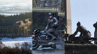 Batman 2021 Film Set   Robert Pattinson's Full Bat Suit and Bat Bike   #DCEU   OakShow