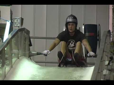 Luge Training in Lake Placid