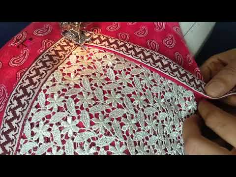 Long Gown Maxi Stitching for Beginners | Angrakha Gown | Long Gown Sewing | Make Ankle length dress