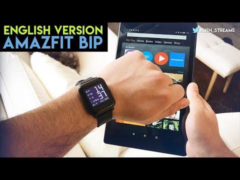 Reviewed: AMAZFIT BIP English Version