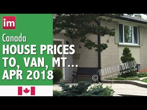 Canada House Prices (April 2018) | Cost of Living in Canada