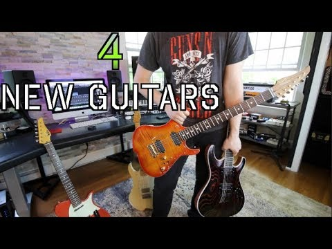 4 New guitars!!!( which one is your favorite?)