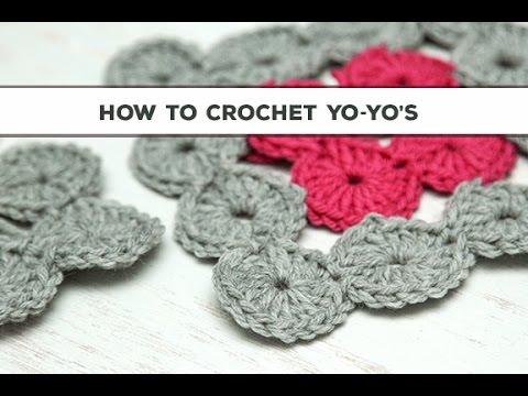 How to Crochet Yo-Yos