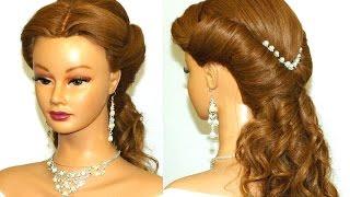 Swell Hairstyle For Medium Long Hair Hair Bow Wedding Updo Tutorial Hairstyles For Women Draintrainus