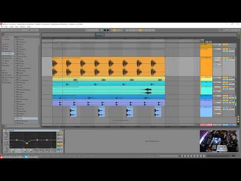 Ableton Live 10 - Making A Hard Minimal Techno Track [Stream Excerpt]