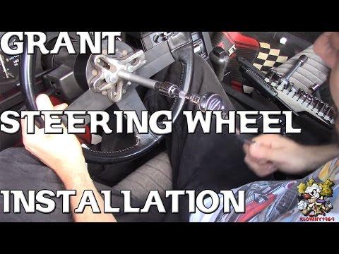 Grant Steering Wheel Install !!!