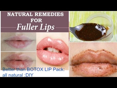How to get naturally PINK and FULLER LIPS Better than BOTOX Lip Pack