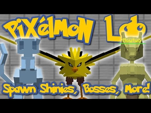Pixelmon Lab: COMPLETE SPAWNING GUIDE! Pokemon, Shiny Pokemon, Bosses, and Specified Levels!
