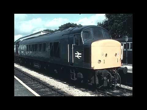 Class 45s Devon 1985/86 on super 8 film