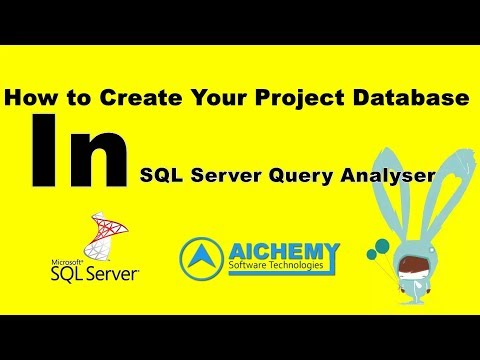 SQL QUERY | how to create tables and database in ms-sql server database