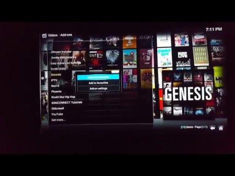Kodi/XBMC - Genesis Resume play and Auto Play Movies, TV Shows in Genesis