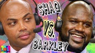 Shaq vs Charles Barkley: Fight!  (Compilation)