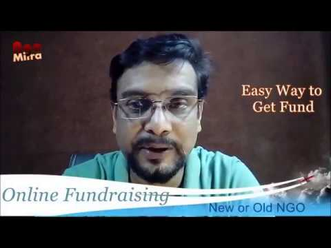 NGO ऑनलाइन कैसे FUND लाएँ, How to raise FUND online