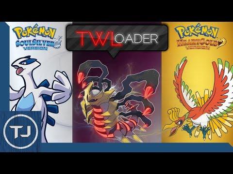 3DS Play Pokemon Platinum, Soul Sliver & Heart Gold On TWLoader!