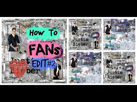 How To : make fan edits #2 for instagram/tumblr