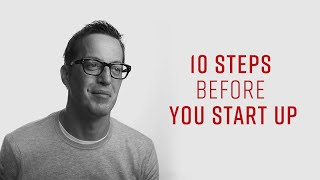 10 Steps Before You Start Up