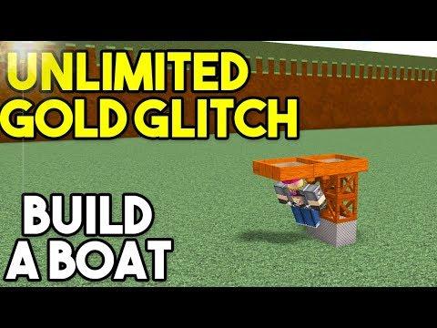 *NEW* UNLIMITED GOLD GLITCH!   Build A Boat For Treasure ROBLOX