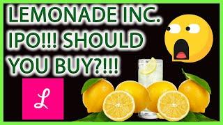 LEMONADE INC STOCK IPO!!! SHOULD YOU BUY NOW?!!! (LMND) 🚨STOCK MARKET LIVE TECHNICAL ANALYSIS!!!🎯