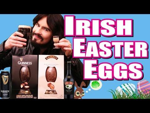Irish People's Guinness & Baileys Easter Eggs -  (Alcohol 1%)
