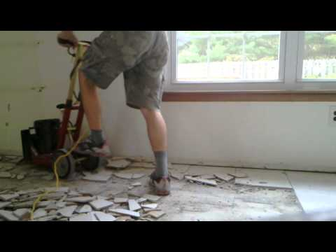 Removing Tile Mortar From My Concrete Floor Remove Ceramic Tile