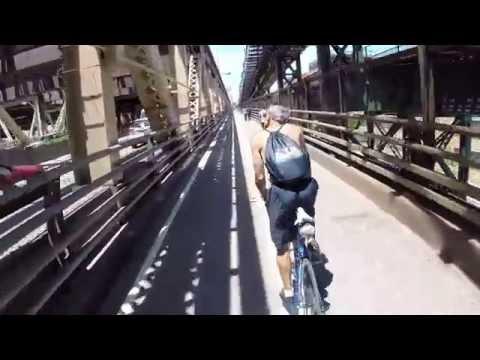60 Miles Of New York Urban Cycling - Brooklyn to Alpine, NJ