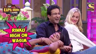 Rinku Devi Goes Gaga Over Wasim Akram - The Kapil Sharma Show