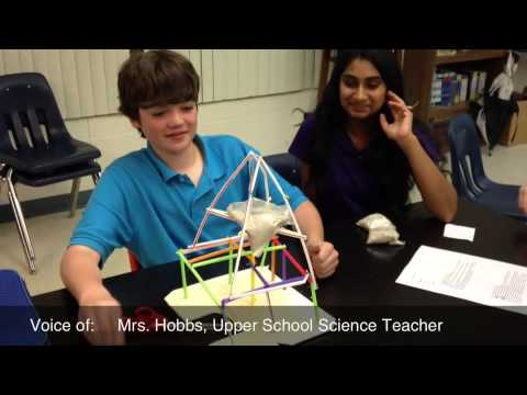 Upper School Science: Earthquake Safe Structures (7th Grade)