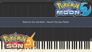 Pokemon Sun & Moon - Lillie's Theme (Piano Synthesia) | Daikhlo