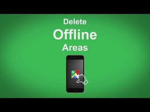 Google Maps   Delete Offline Areas