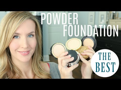 The BEST POWDER FOUNDATION for OILY SKIN | Mature Skin | My Favorites!