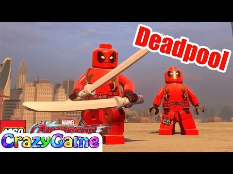 How to Make Deadpool in LEGO Marvel's Avengers MOD