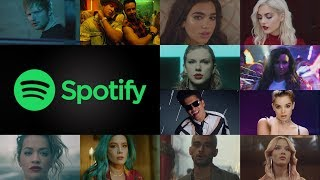 Spotify Global - Top 100 Most Streamed Songs Of Year-End 2017