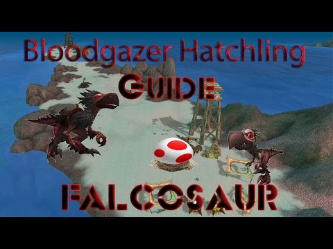 WOW Legion Falcosaur Bloodgazer Hatchling Guide