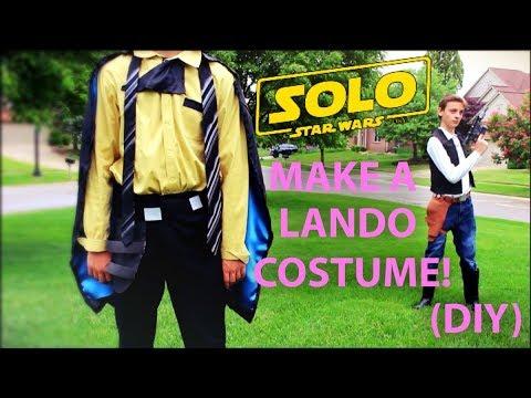 Make Your Own Lando Calrissian Costume! (DIY)