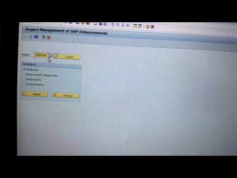 SAP BW 7.3 User Exit Code -- Part 1