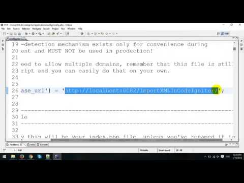Import XML File to MySQL in CodeIgniter