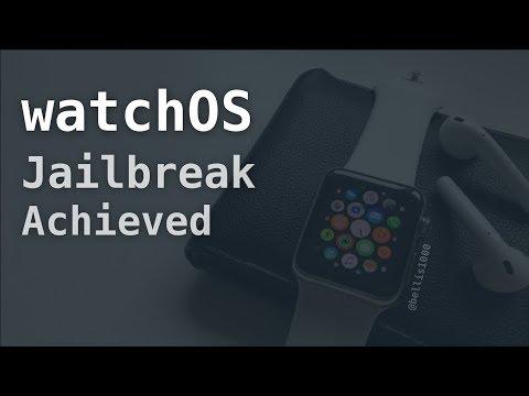 NEW watchOS 2.x - 3.1.3 Jailbreak Achieved & Demoed by Max Bazaliy