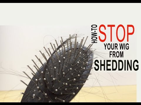 How to stop your lace wig & hair extensions from shedding!