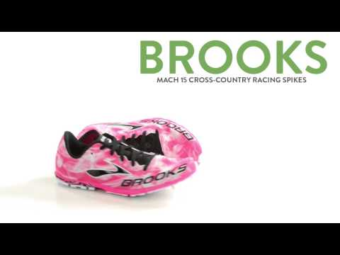 Brooks Mach 15 Cross-Country Racing Spikes (For Women)