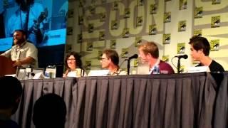 Comic-Con 2012 - Adventure Time panel part 2 - Music Medley