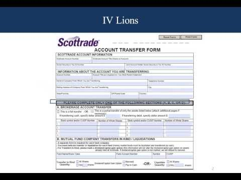 Account Transfer Form
