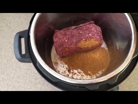 Instant Pot - Delicious Taco Meat Recipe