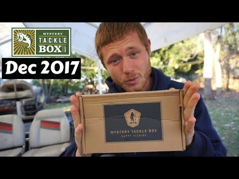 Mystery Tackle Box ~ December 2017 Unboxing