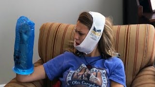 Funny kids high on anesthesia