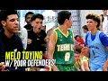 LaMelo Ball TOYING w/ Defenders w/ Lonzo Watching! Big Ballers SPANK Poor Australian Team 😕