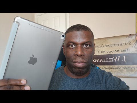 IPad Pro 10.5 Smart Cover unboxing and review!