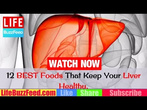 12 BEST Foods That Keep Your Liver Healthy | HOW to Detox Liver Naturally at Home with FOODS?
