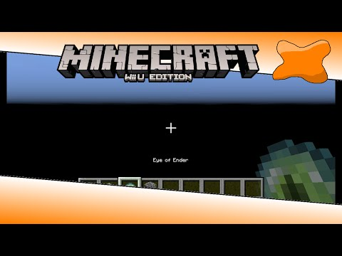 Minecraft Wii U Edition - How to get to the void in the overworld glitch