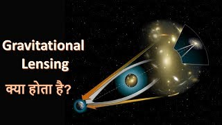 Gravitational Lensing in Hindi - Complete Explanation