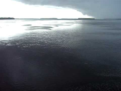 Amazon River Storm, Rio Amazonas Tempestade